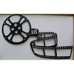 Home Theater Decor Movie Reel and Film 21 Metal by jnjmetalworks, $39.99
