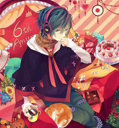 KAITO from VOCALOID.