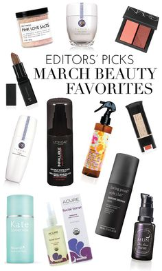 Our Top 12 March Beauty Favorites   theglitterguide.com