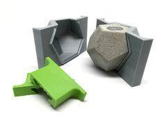 Dodecaedro molde  3D impreso  molde geométrico  por Edgehill3D