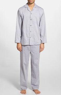 Men's Nordstrom Poplin Pajama Set