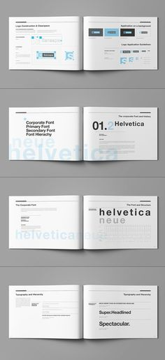 Brand Manual And Identity Poster On Behance  User Interface