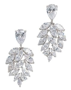 Anna Bellagio Fionna Cluster Drop Earrings - The Knot