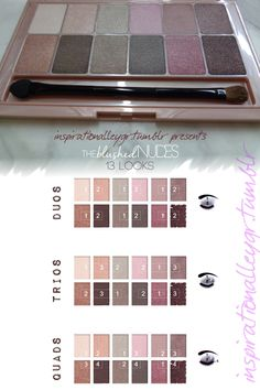 THE blushed NUDES overview review greek maybelline blog tumblr read more there