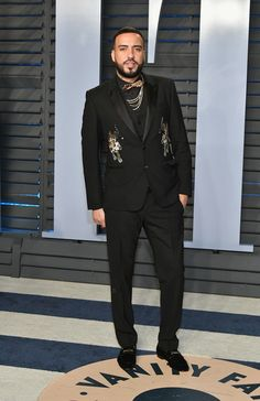French Montana - The Most Dapper Men At The 2018 Oscars - Photos