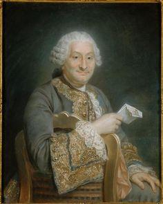 Maurice Quentin de La Tour | Portrait d'homme, dit Monsieur d'Albespierre | Images d'Art