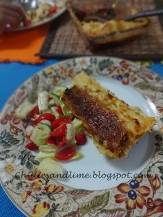 Chillies and Lime: Tuna Cannelloni