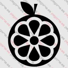 Pegame.es Online Decals Shop  #orange #fruit #vinyl #sticker #pegatina #vinilo #stencil #decal