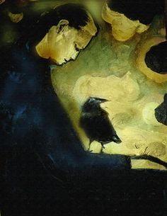 """""""Raven Keeper"""" by Eva Lewarne"""