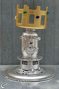 STC Scrap Sculptures 2013 - Goblet