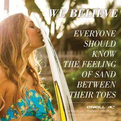 We Believe Wednesday- Sandy Toes - O'Neill Girls- Kiana Fores