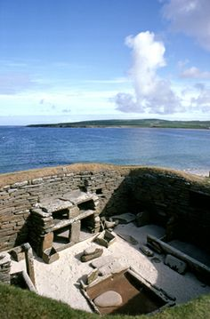 Uncovered by a storm back in 1850, Skara Brae presents a remarkable picture of life around 5,000 years ago. #Orkney #Scotland #history