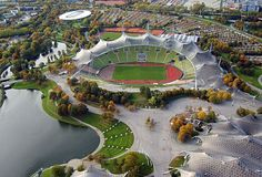 Toured the 1972 Summer Olympic grounds in Munich, Germany
