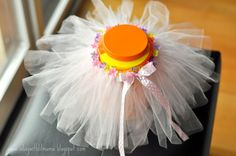 a {day} with lil mama stuart: DIY Tutu Tutorial from Two Yards of Tulle for $2