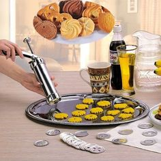 Biscuits Cookie Presses Machine Cake Decorating Biscuit Maker Cookie Tools Kitchen Household Supplies Cookie Machine Tools