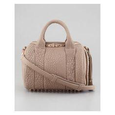 Alexander Wang beige satchel bag, women's designer handbags