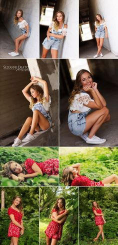 Senior pictures, Kentucky Summer, overalls, lace and overalls