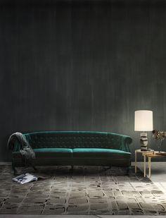 Fall 2016 2017 Color Trends According To Pantone: Lush Meadow | Interior Design Inspiration. Decorating Ideas. #colors #interiordesign #pantone Read more: https://www.brabbu.com/en/inspiration-and-ideas/trends/fall-winter-2016-2017-color-trends-according-pantone