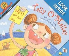 A FUN Book To Introduce Tally Marks! #KIDS LoVE It! You will too. Tally O'Malley.  Make #Education FUN!