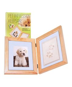 Take a look at this Pet Paw Impression Frame Set by Trademark Global on #zulily today!