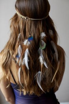 #headband #feather