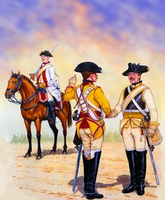 Prussian Dragoon and Cuirassiers during the Seven Years War