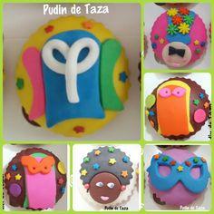 Cupcakes carnaval de Barranquilla