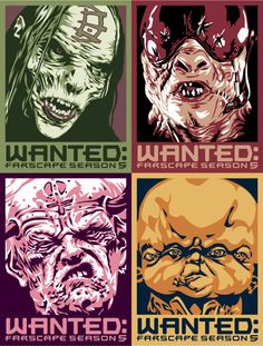 Wanted:Farscape 4 by ratscape.deviantart.com on @deviantART