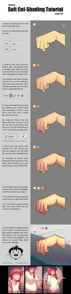 Soft cel-shading tutorial More