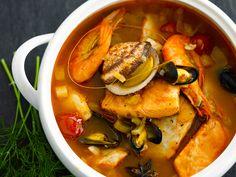 Découvrez la recette Bouillabaisse sur cuisineactuelle.fr.