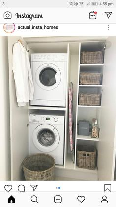 Small Utility Room, Utility Room Designs, Small Laundry Rooms, Laundry Room Organization, Laundry Room Layouts, Laundry Room Remodel, Laundry Room Design, Home Room Design, Utility Cupboard