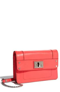 "Milly ""Mini"" Nappa Leather Clutch"
