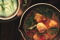 Mixed-Greens and Sausage Soup with Cornmeal Dumplings - easy soup ...