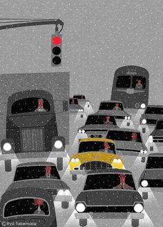 Ryo Takemasa 武政 諒 (Japanese, b. 1981, based Tokyo, Japan) - 1: Squet magazine cover, April 2015 2: Squet magazine cover , January 2016 3: Squet magazine cover, Feb. 2016 4-7: Cities In Seasons, 2015 8: Kenpo News magazine cover, April, 2014 9: Squet...