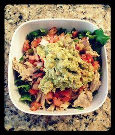 Whole Life Challenge: Chipotle Carnitas Salad