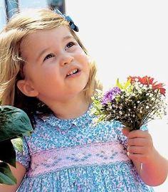 Precious princess Charlotte
