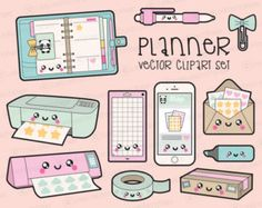 Premium Vector Clipart  Kawaii Bathroom Clipart  Kawaii