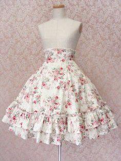 Tutorial for a High-Waist Skirt