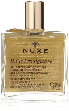 NUXE Huile Prodigieuse Multi-Purpose Dry Oil, to help nourish your face, body, and hair. | 22 French Pharmacy Products That People Actually Swear By