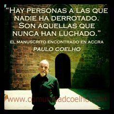 La #Derrota, en el #ManuscritoAccra de @Paulo Fernandes Fernandes Fernandes Fernandes Coelho  - www.comunidadcoelho.com | #ManuscritodeAccra #Amor #Derrota #ComunidadCoelho #PauloCoelho