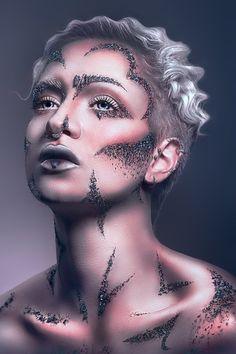 Photographer/Concept: Sarina Mannaert Photography Hair/Makeup: Sarina Mannaert Make-up Artist Model: My Fragility