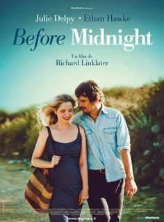 Before Midnight. Magnifico relato intimo sobre la vida de pareja. Ella es parisina, el de USA. Highly recommended . Sweet and intimate family story.