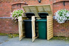 bin store with open top