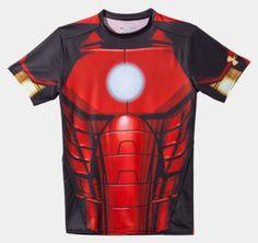 "Men's Under Armour® Alter Ego Compression Shirt ""Iron Man"""