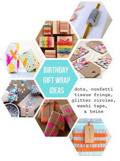 I Love Rosemary Watson: Birthday Gift Wrap Ideas