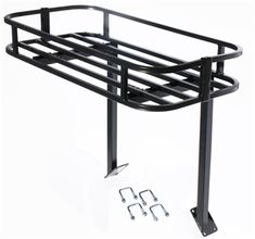 Rock Hard Rock Rack Cargo Basket for all Tire Carriers Jeep Mods, Jeep Tj, Jeep Wrangler, Patrol Y61, Nissan Patrol, Toyota Sequioa, Tire Rack, Wrangler Accessories, Ford Excursion