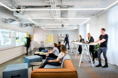 Creative Office Space, Office Space Design, Modern Office Design, Office Interior Design, Office Interiors, Industrial Office Design, Corporate Office Design, Architecture Office, Layout Design