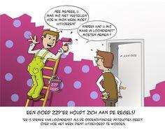 Een goed #zzp'er houdt zich aan de regels.