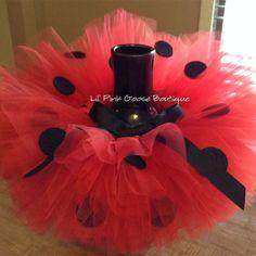 Ladybug Tutu, Ladybug Costume, Ladybug Party, Red Tutu Skirt, Tutu Skirts, Ladybug 1st Birthdays, 1st Birthday Tutu, Halloween Outfits, Halloween Halloween