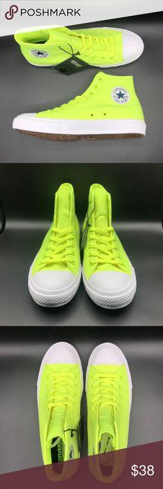 7925cdd80c17 Converse Chuck Taylor All Star II Volt Green White Converse Chuck Taylor  All Star II